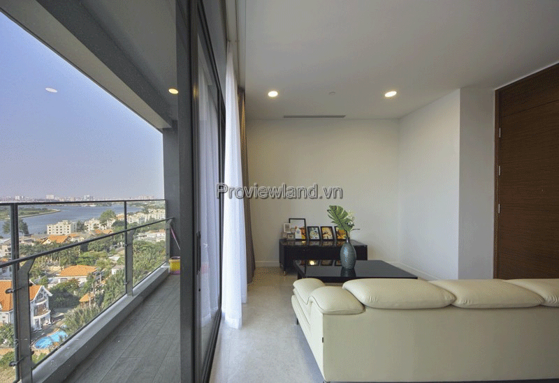 Nassim District 2 apartment for rent 3 bedrooms river view