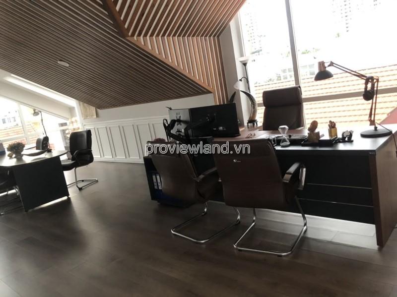 Villa for rent in Thao Dien District 2, Nguyen Van Huong, 430m2, 3 floors