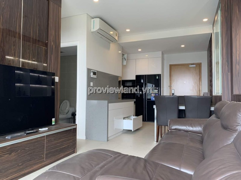 Diamond Island apartment for rent at Hawail Tower nice furniture cheap price