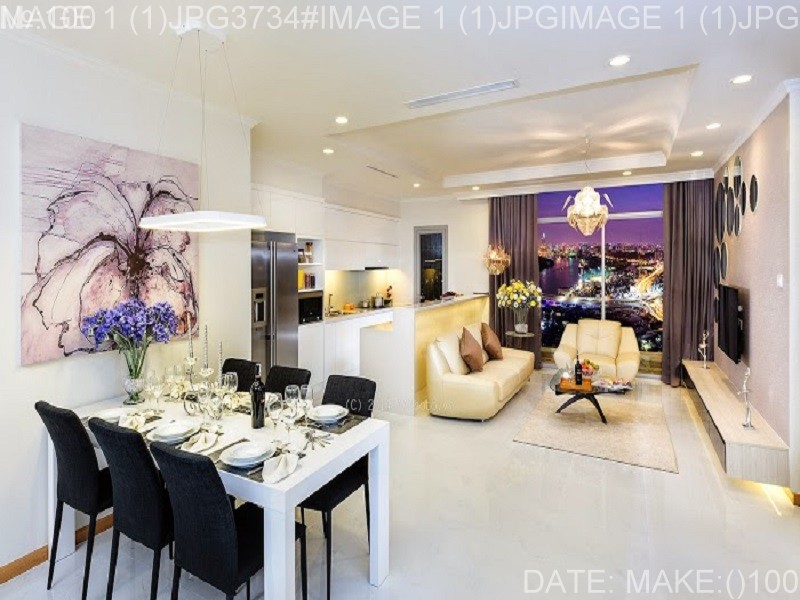 Apartment for sale in Vinhomes Central Park Vin furniture Park 1 has 4 bedrooms