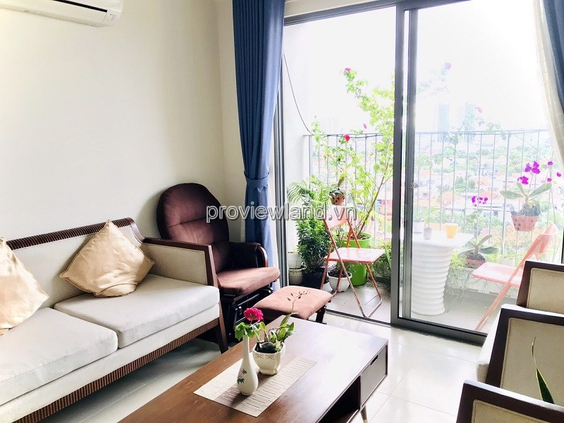 Masteri Thao Dien apartment with 2 bedrooms high-class furnished large balcony for rent