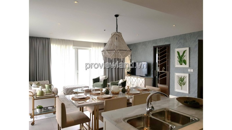 Diamond Island apartment for rent with 3 bedrooms Brilliant tower cool river view