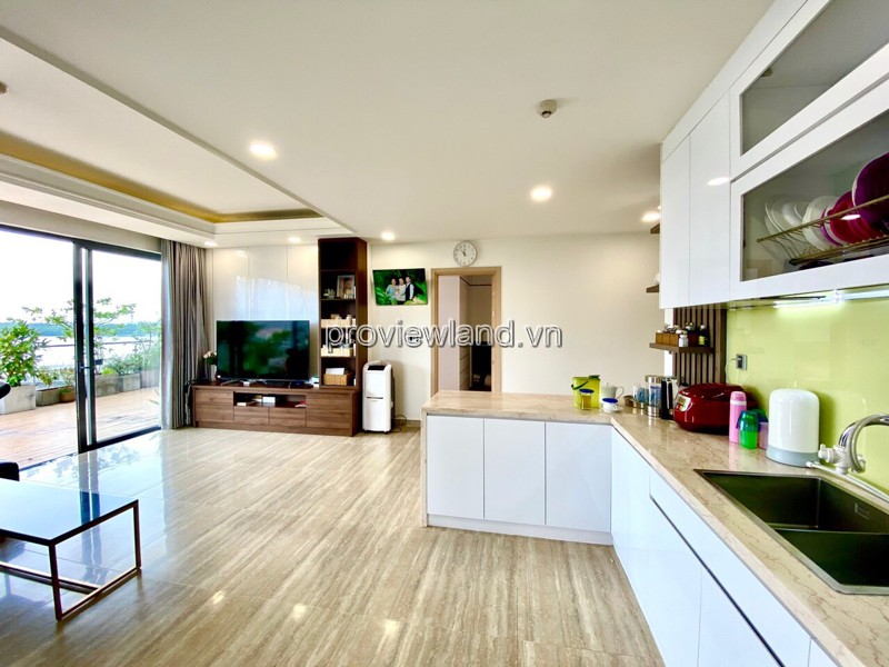 Diamond Island apartment for rent, fully furnished with 3 bedroom garden