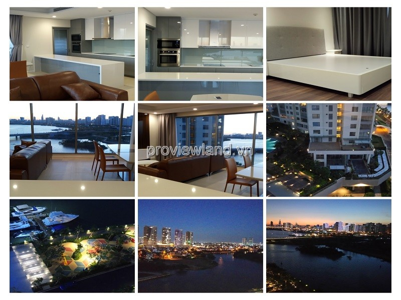 Apartment for sale 3 bedrooms high floor fully furnished Diamond Island Hawail Tower