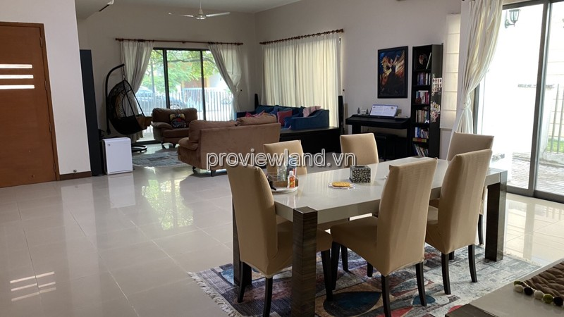 Riviera An Phu Villa for rent in District 2, area 290sqm 4BRs, fully furnished
