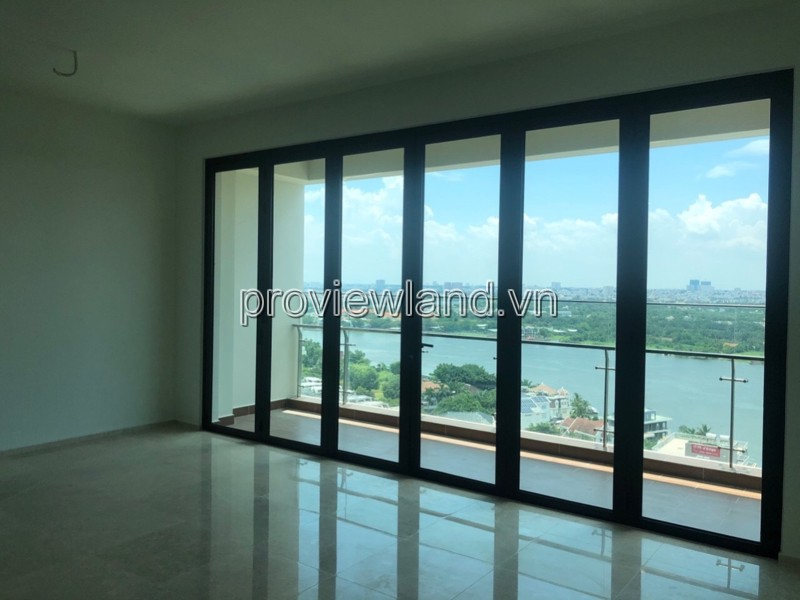 Apartment 3 bedroom with some furniture in D'edge Thao Dien for sale