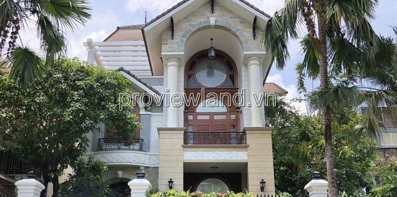 Villa for sale in Rivier Mark Tran Nao area, 330m2 of land, 1 basement + 4 floors