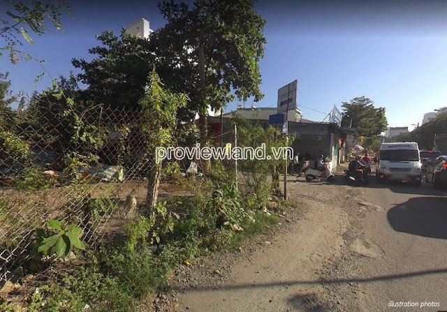 Land for sale in front of Xuan Thuy Thao Dien street area 1049sqm