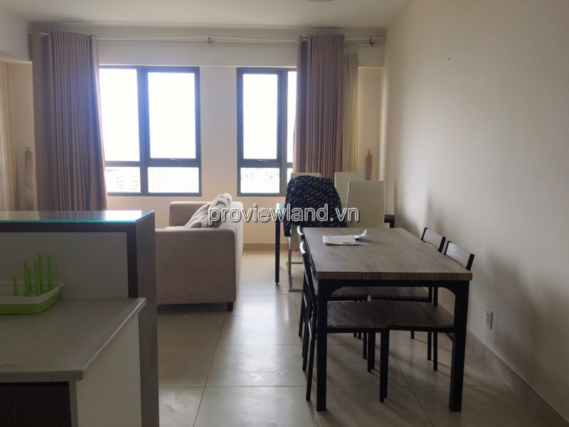 apartment for rent in Masteri Thao Dien 3 bedrooms fully furnished