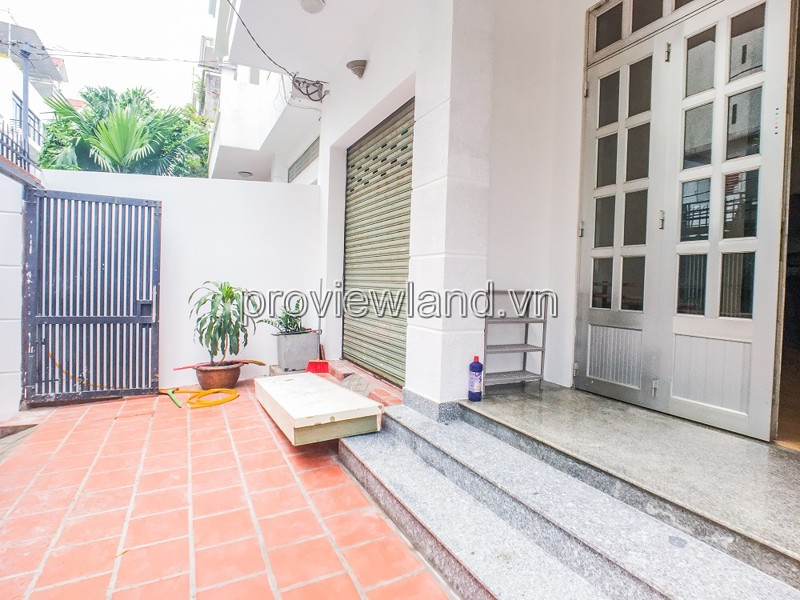 House for rent in Thao Dien street, village Press, 110m2, 2 floors, 4 bedrooms