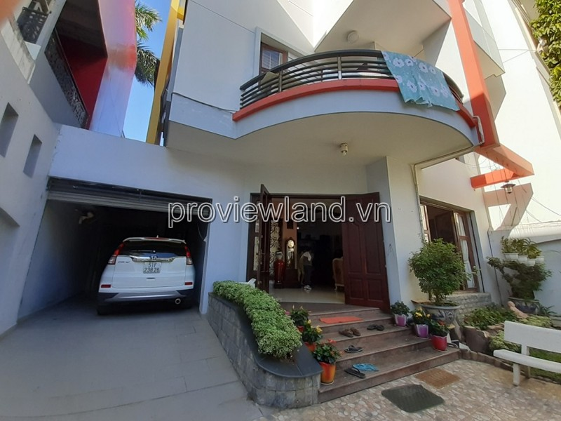 Villa for rent in District 2 area 250m2 frontage