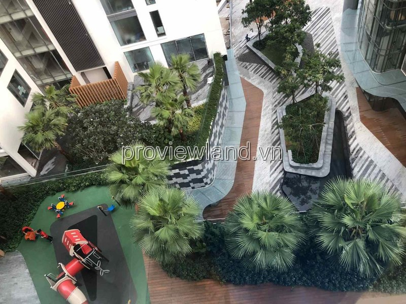Gateway Thao Dien apartment for rent 4 bedrooms fully furnished beautiful