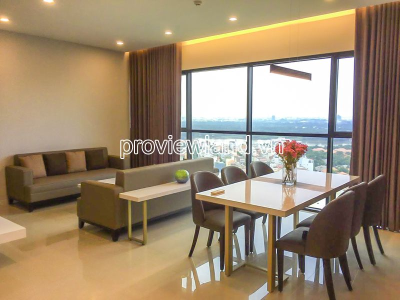 Apartment for sale at The Ascent Thao Dien block A with 3 bedrooms high floor