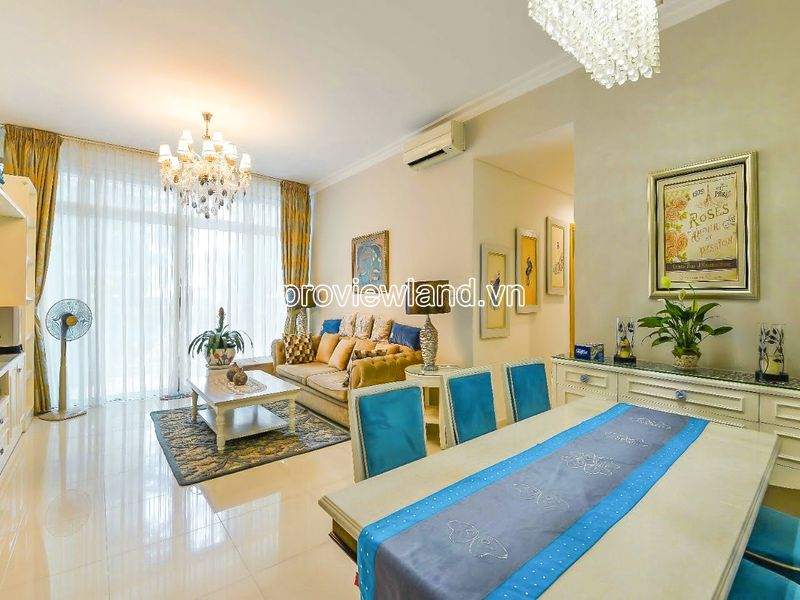 For sale luxury apartment at The Vista An Phu with 3 bedrooms 180m2 block T4