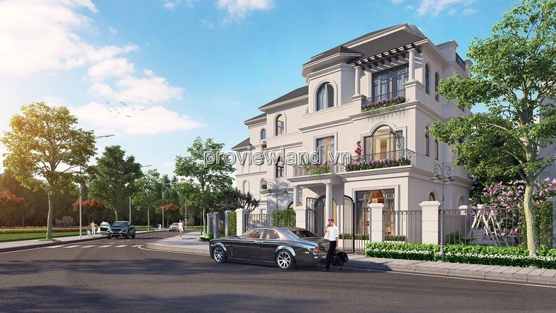 Villa price Vinhomes Grand Park, area 225 -400m2, 3 floors, 6% discount