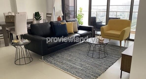 Gateway Thao Dien apartment with 4 bedrooms fully furnished for rent