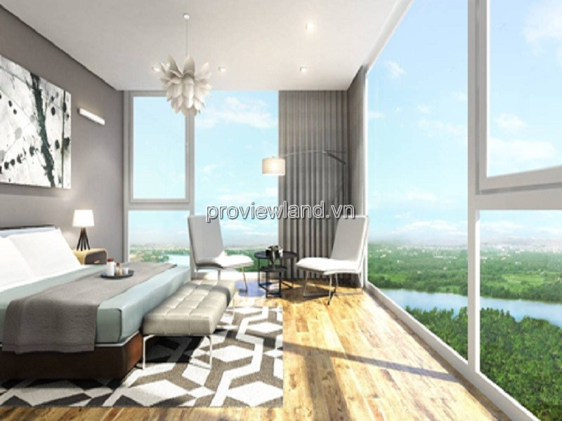 Penthouse Masteri Thao Dien apartment for sale 2 floors 3 bedrooms high-class facilities