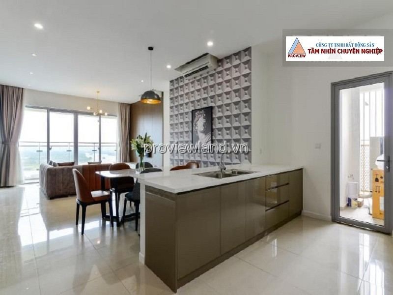 Apartment for sale in Estella Heights District 2 furnished with 3 bedrooms