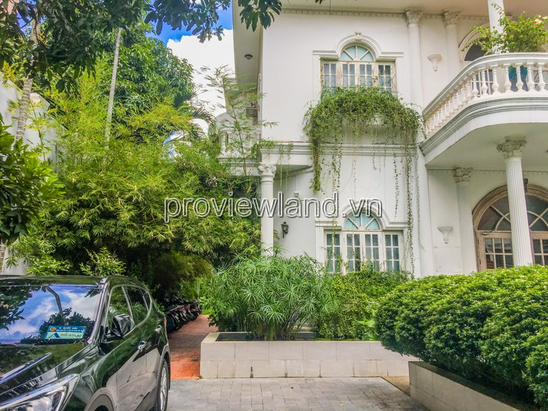 Villa for sale in Thao Dien District 2, 3 floor, area 977sqm, swimming pool garden