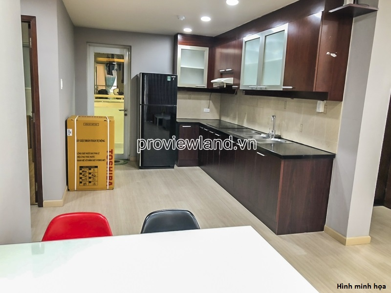 Hung Vuong Plaza apartment for sale at on high floor beautiful view with 3 bedrooms