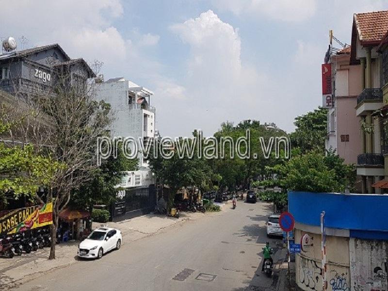 Biệt thự mặt tiền đường Xuân Thủy cho thuê 304m2