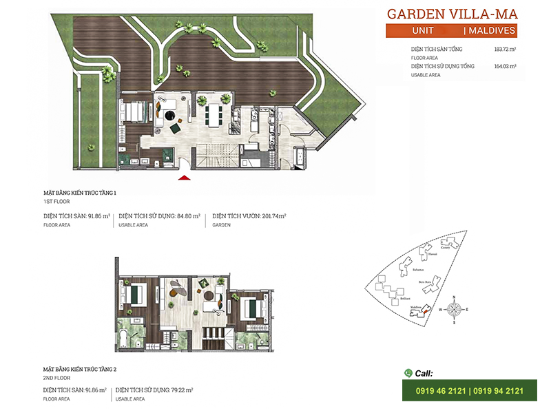 Diamond-Island-DKC-Maldives-layout-Garden-Villa-183m2
