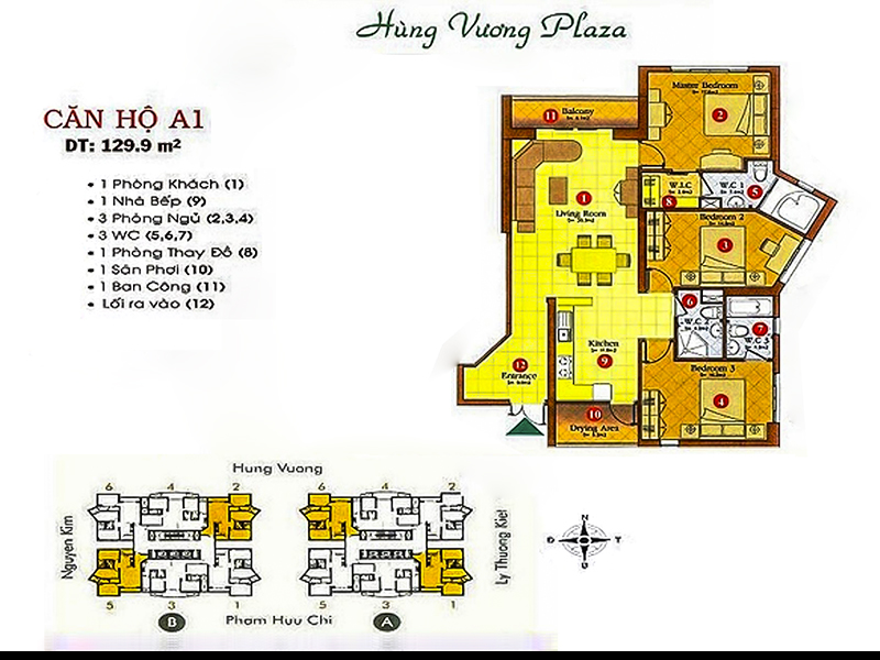 Hung-Vuong-Plaza-layout-mat-bang-can-ho-3PN-A16-B52