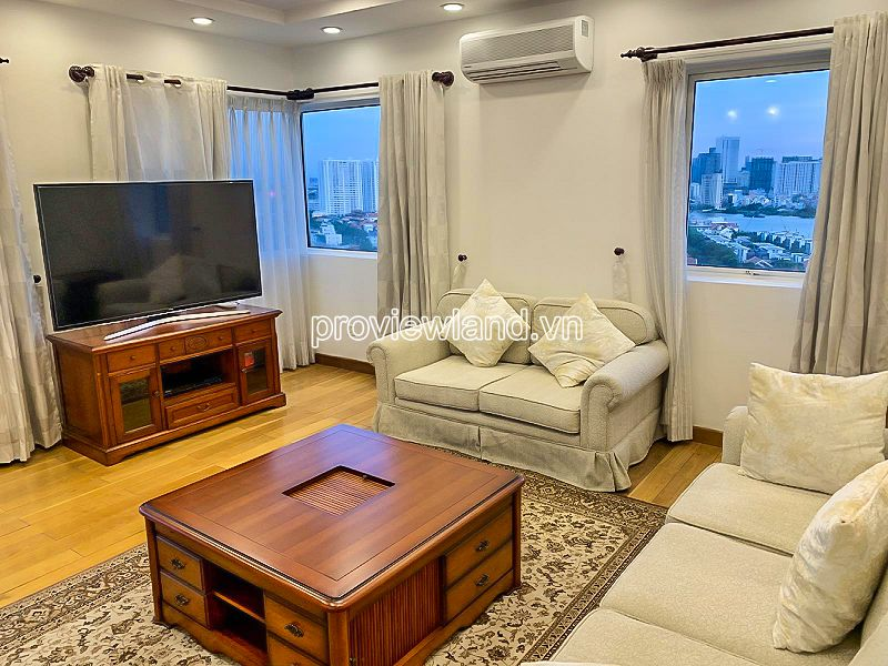 Duplex apartment for sale at River Garden high floor with 4 bedrooms river view