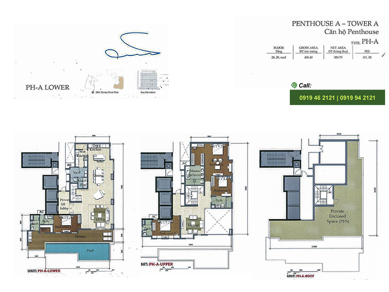 The-Nassim-Thao-Dien-Mat-bang-Layout-Penthouse-block-A-389m2