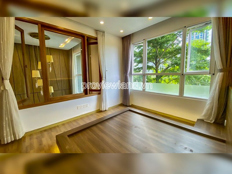 Duplex garden pool view apartment for rent at Vista Verde with 2 floor 3 bedrooms