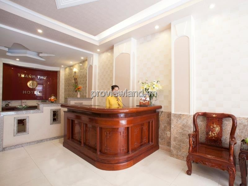 Selling hotel District 1 including 10 floors, 44 rooms, frontage Nguyen An Ninh