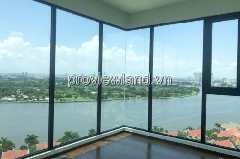 D'Edge Thao Dien penthouse for sale, very hot, 411m2, raw house, river view