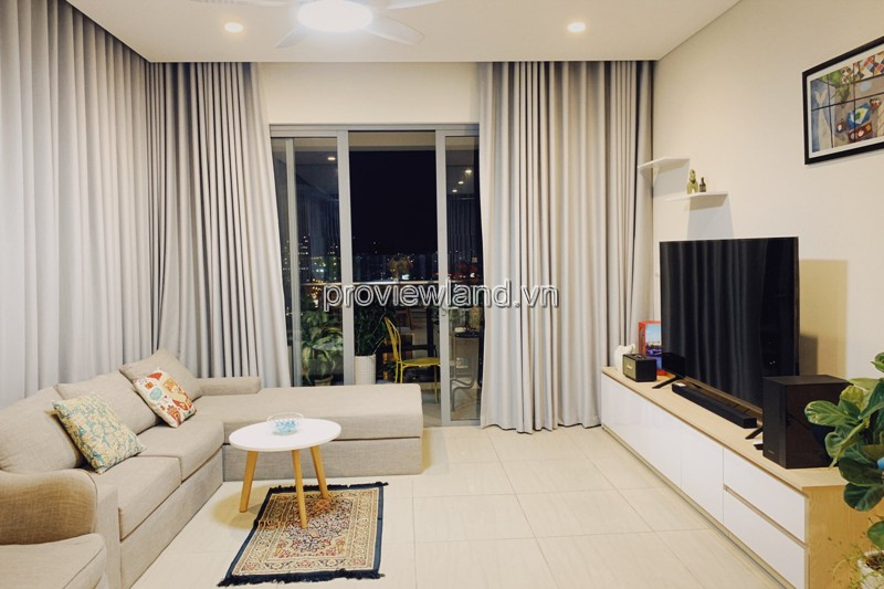 Diamond Island apartment for sale 3 bedrooms wall furniture high floor