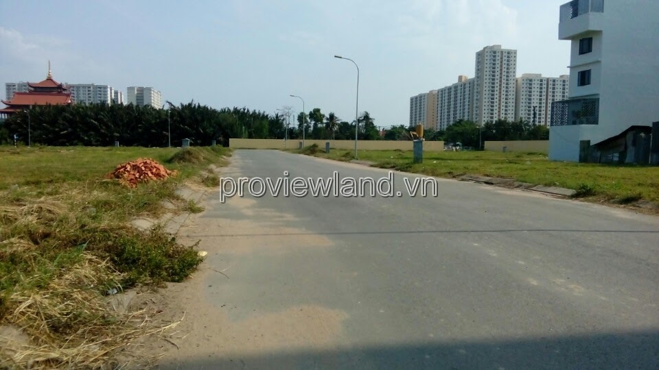 Land for sale in An Phu-An Khanh District 2, area of 11,434m2