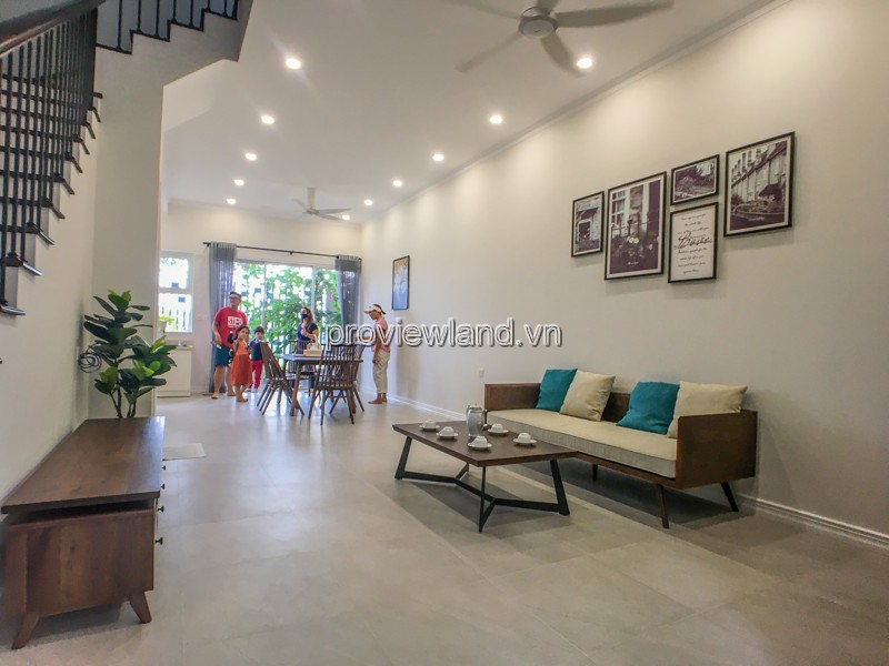 Palm Residence townhouse has garden with 3 bedrooms fully furnished