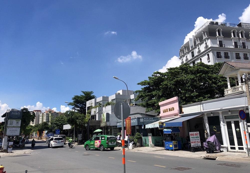 Bán lô đất 2 mặt tiền đường Thảo Điền, Quận 2, diện tích 1112m2