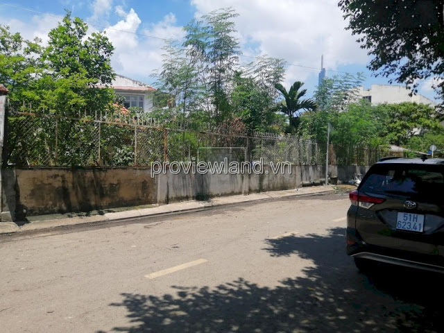 Land for Sale frontage street 65 Thao Dien District 2 in area 1200m2