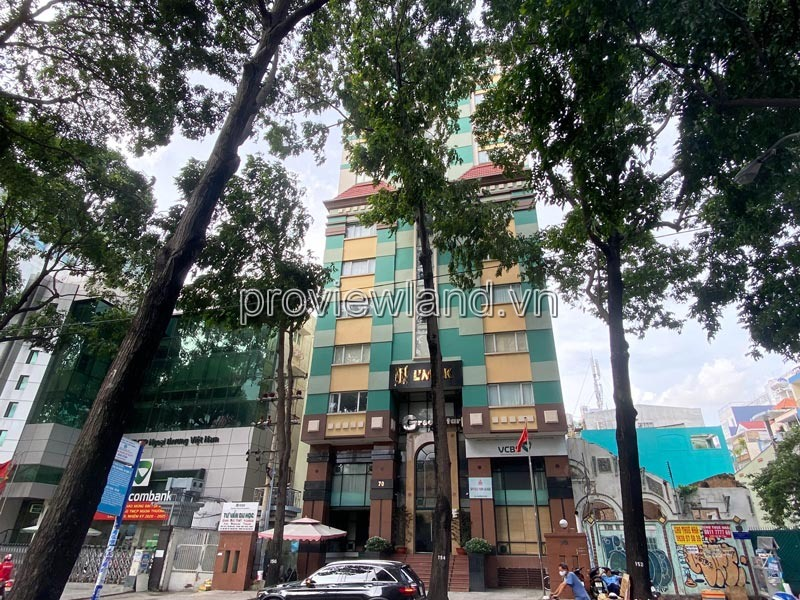 Office building for sale in District 3, Pham Ngoc Thach, 448m2, 1 basement + 12 floors
