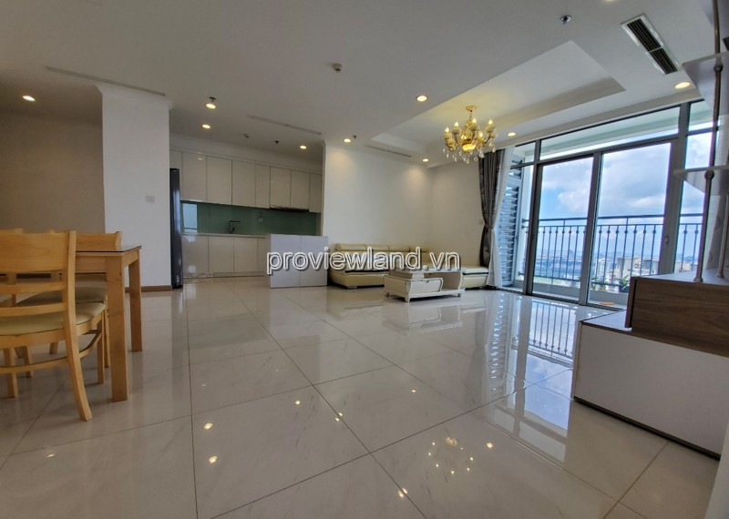 Vinhomes Central Park for rent The Central 3 building fully furnished