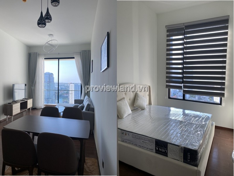 Apartment for rent in D'edge District 2 fully furnished with cool river view
