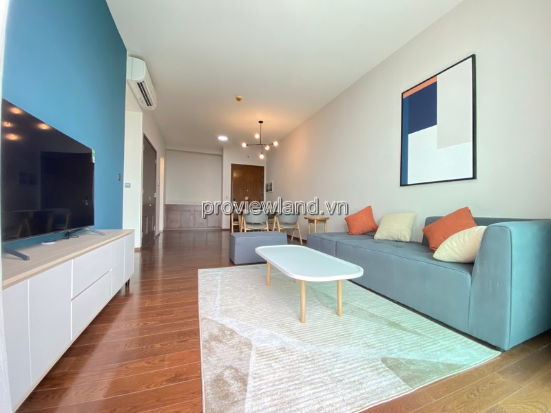D'edge apartment on low floor B tower for rent with 2 bedrooms fully furnished