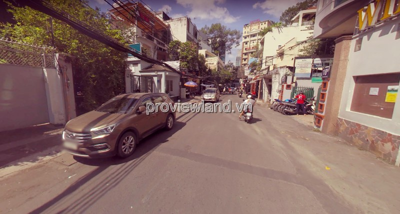 House for sale in front of Nam Quoc Cang District 1, 2 floors, 9.7x36m area, suitable for office