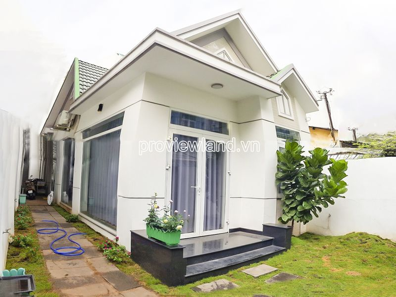 Townhouse for sale in No Trang Long Binh Thanh land area 155m2 with garden