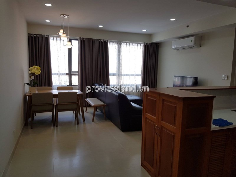 Masteri Thao Dien apartment on low floor with 3 bedrooms fully furnished for sale