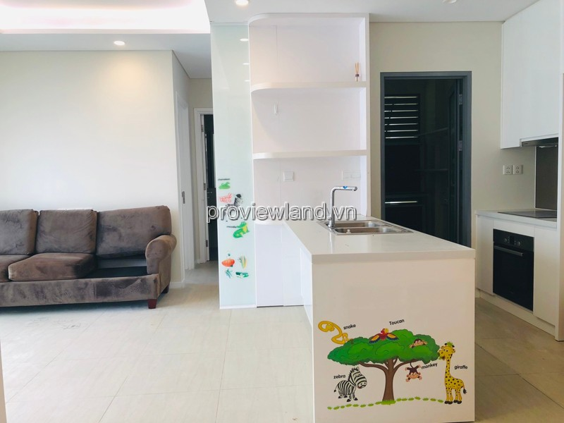 Diamond Island apartment for sale with 2 bedrooms fully furnished on the middle floor