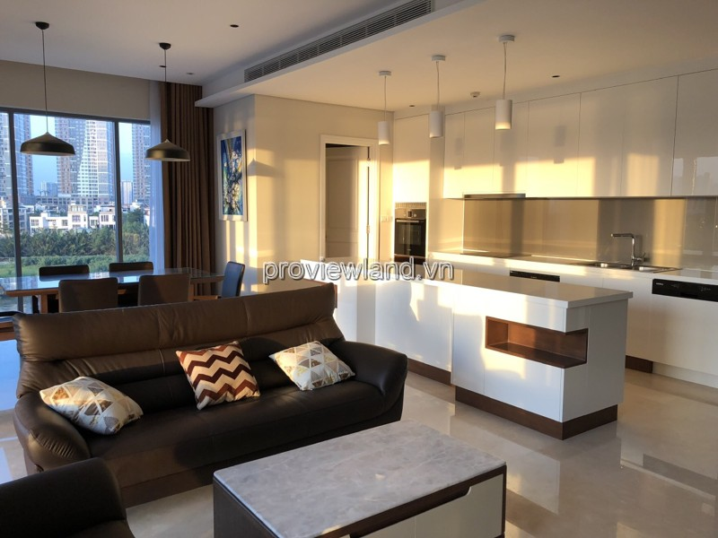 Apartment Diamond Island low-rise for rent 3 bedrooms fully furnished