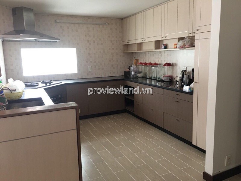 Thao Dien compound villa for rent 5 bedrooms with area 330m2