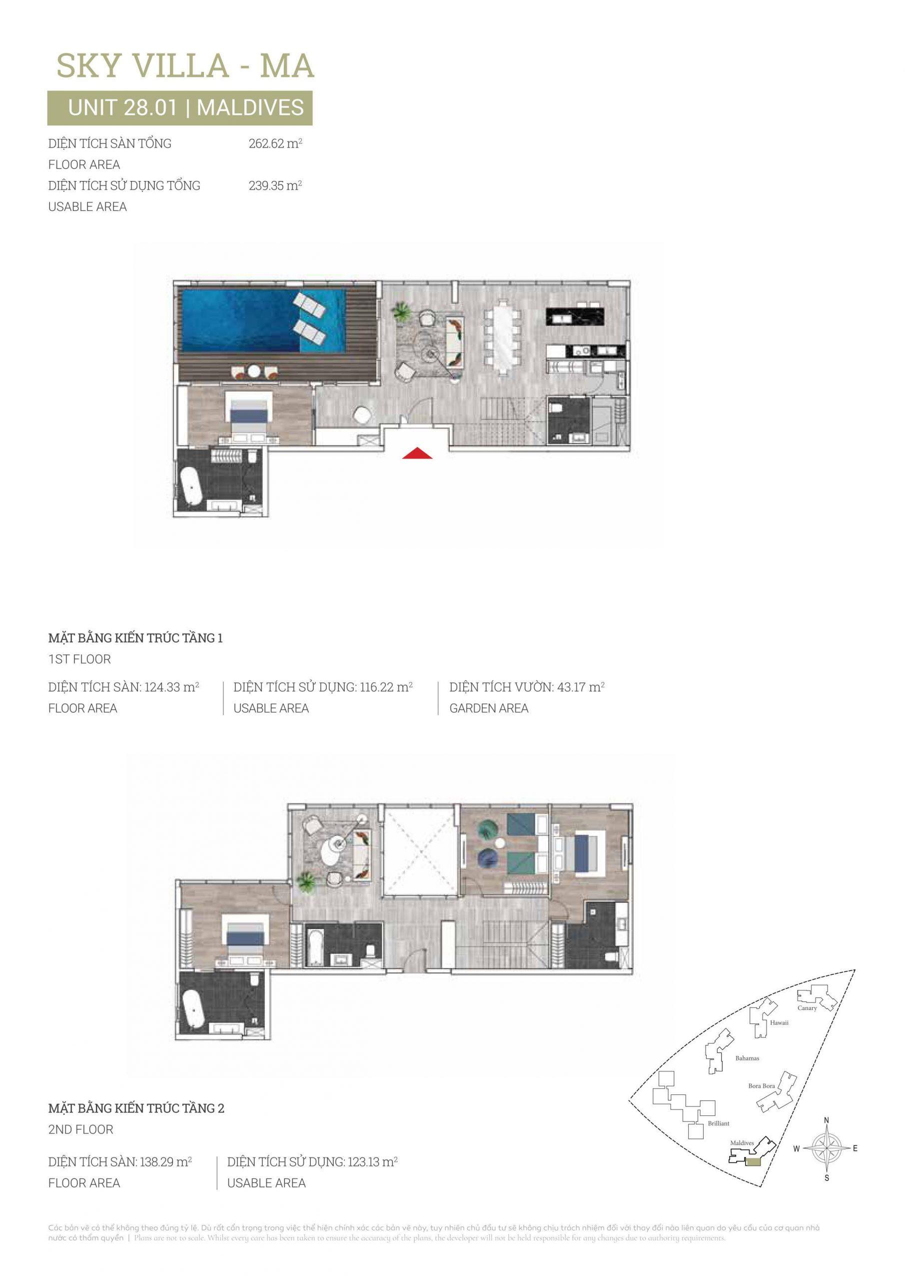 Layuot Penthouse DKC MA-28.01